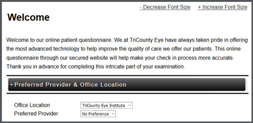 tricounty-patient-registration